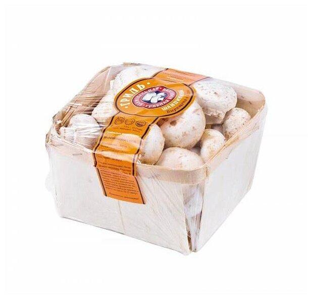 Шампиньоны-гриль целые свежие, коробка картонная (Россия)