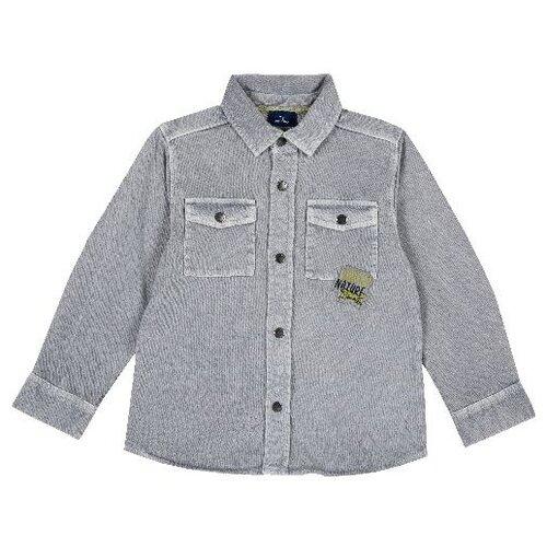 Купить Рубашка Chicco размер 128, серый, Рубашки