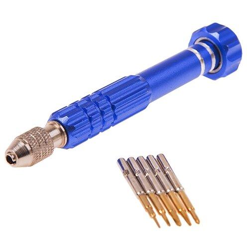 Набор инструментов для точных работ REXANT (6 предм.) 12-4764 blue набор инструментов для точных работ rexant 37 предм 12 4702 желтый красный