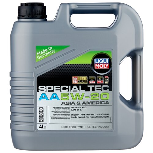 цена на Моторное масло LIQUI MOLY Special Tec AA 5W-20 4 л