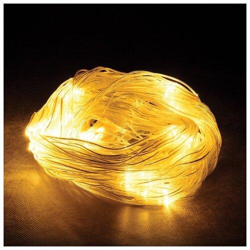 Гирлянда Vegas Сеть световая 55030-34 (150 x 120 см), 144 ламп, желтый/прозрачный провод недорого