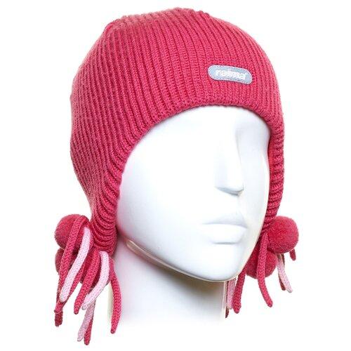 Шапка-ушанка Reima размер 50, cherry pink шапка reima размер 48 pink