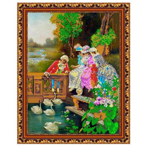 Светлица Набор для вышивания бисером Романтика 24 х 30 см, бисер Чехия (288)