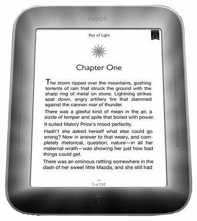 Электронная книга Barnes & Noble Nook Simple Touch with GlowLight