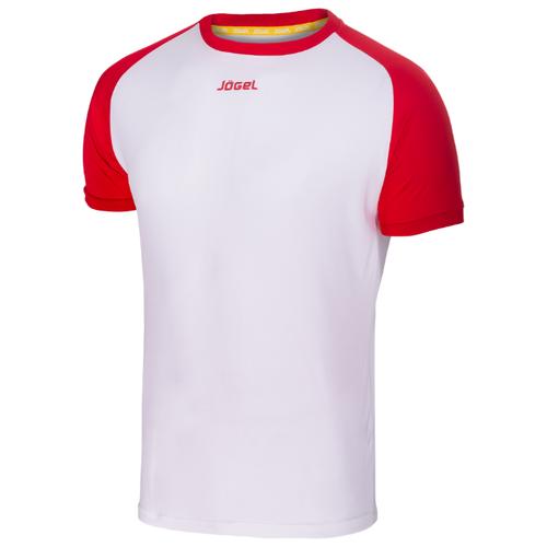 Футболка Jogel JFT-1011 размер XS, белый/красный футболка printio размер xs красный