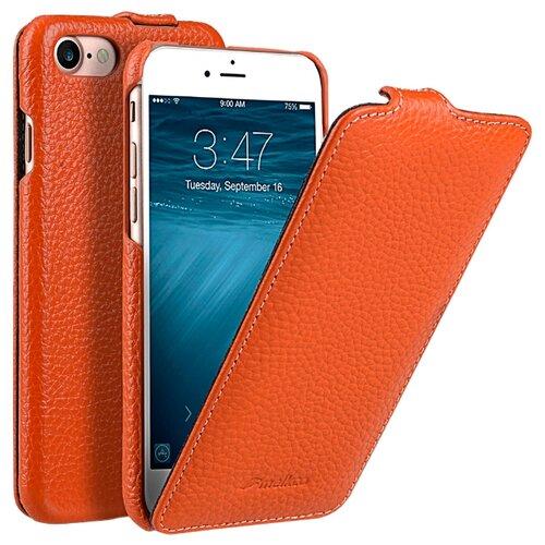 Чехол Melkco Jacka Type для Apple iPhone 7/iPhone 8 оранжевыйЧехлы<br>