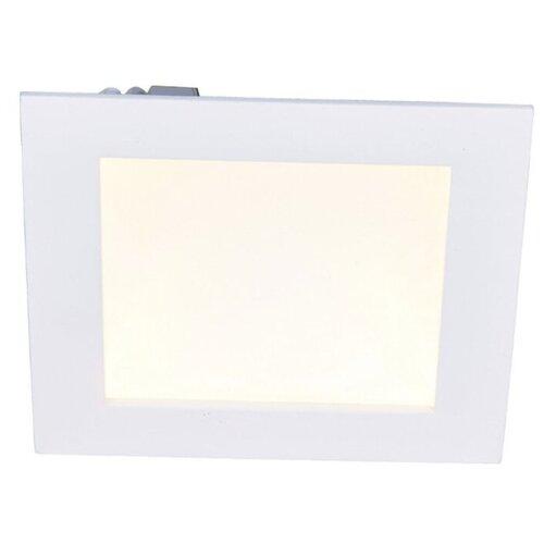 Встраиваемый светильник Arte Lamp RIFLESSIONE A7416PL-1WH встраиваемый светильник arte lamp a2418pl 1wh