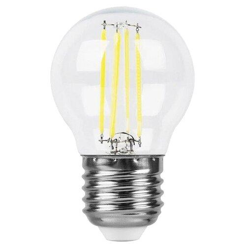 цена на Лампа светодиодная Feron LB-61 25582, E27, G45, 5Вт