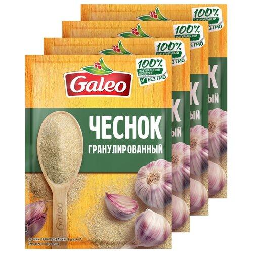Galeo Пряность Чеснок гранулированный 4х16 г чеснок соло 250 г