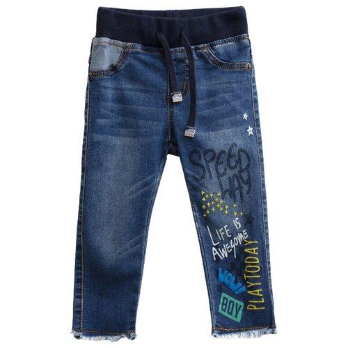 Брюки playToday размер 74, синийБрюки и шорты<br>