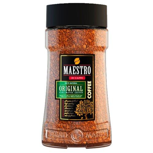 Кофе растворимый Maestro Di Caffe Original, стеклянная банка 95 гРастворимый кофе<br>