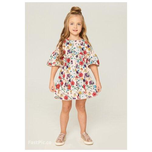 Платье INFUNT размер 110, светло-розовый, Платья и сарафаны  - купить со скидкой