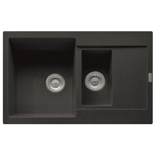 Врезная кухонная мойка 78 см FRANKE MRG 651-78 оникс franke mrg 651 78 114 0198 351