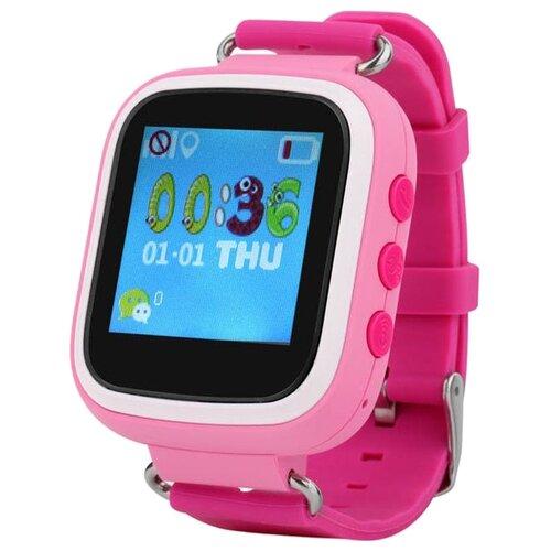 Фото - Детские умные часы Smart Baby Watch Q70 розовый часы smart baby watch s4 зеленый