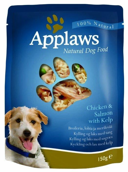Корм для собак Applaws курица, лосось с водорослями 150г