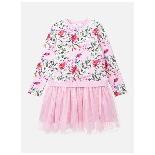 Купить Платье playToday размер 110, светло-розовый, Платья и сарафаны