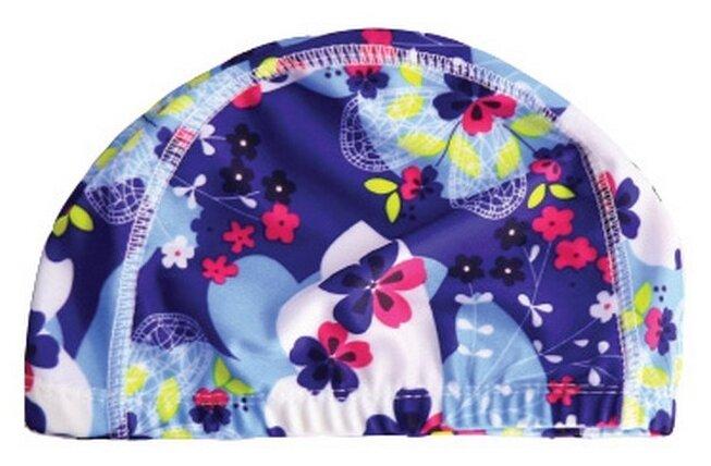 Шапочка для плавания BRADEX полиэстер синий/голубой