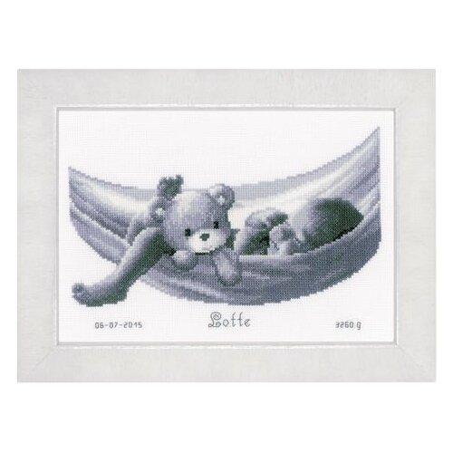 Купить Vervaco Набор для вышивания Малыш в гамаке 27 x 19 см (PN-0150906), Наборы для вышивания