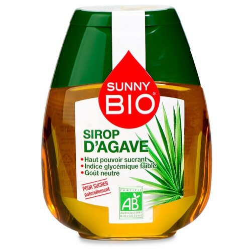 Заменитель сахара натуральный Sunny Bio сироп агавы 250 г Франция