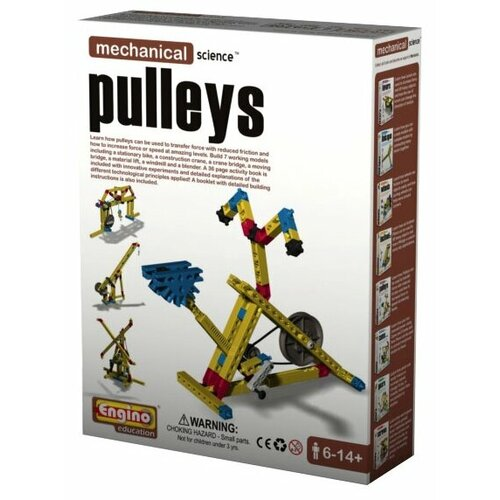 Купить Конструктор ENGINO Mechanical Science M05 Pulleys, Конструкторы
