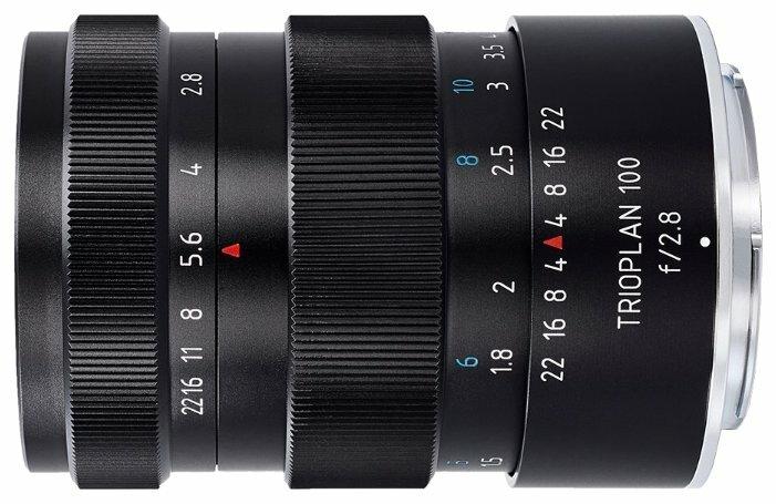 Объектив Meyer-Optik-Görlitz Trioplan 100mm f/2.8 Leica M