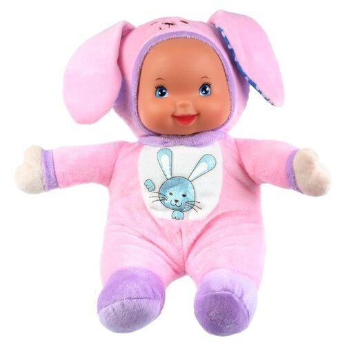 Купить Интерактивный пупс Карапуз Зайка, 32 см, SLT-004-A-RU, Куклы и пупсы