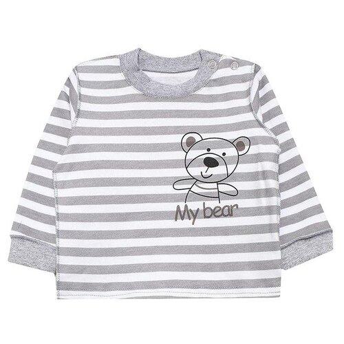 Лонгслив Лапушка размер 56, серыйФутболки и рубашки<br>