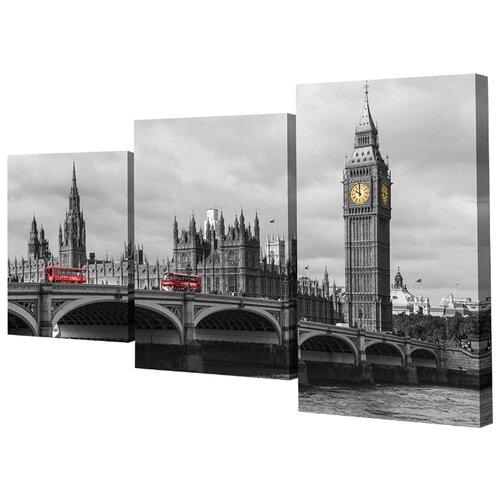 Модульная картина Toplight TL-MM1042 78х50 см картина бордовые тюльпаны трихтин модульная 2943431 125 х 73 см