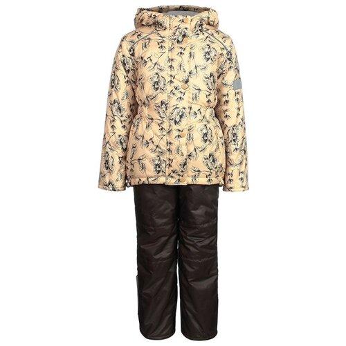 Комплект с брюками Oldos Jicco Мария размер 104, золотой куртка для девочки jicco by oldos ирма цвет малиновый 2j8jk01 размер 104 4 года