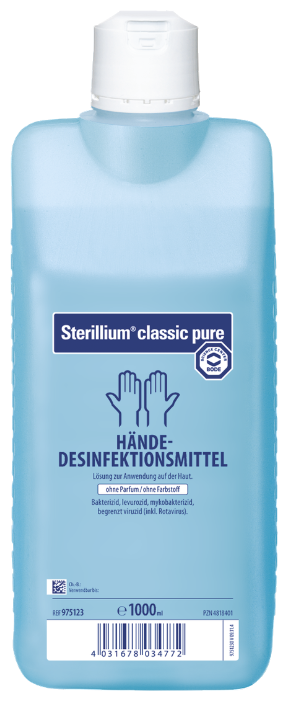 Hartmann Жидкий антисептик для рук Sterillium Classic Pure