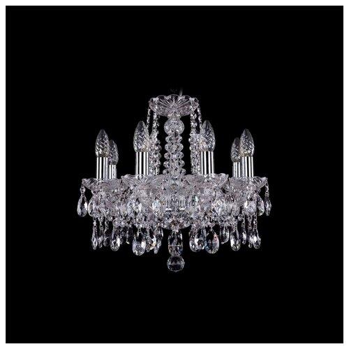 Люстра Bohemia Ivele Crystal 1413 1413/8/141/Ni, E14, 320 Вт люстра bohemia ivele crystal 1413 1413 6 141 g leafs e14 240 вт