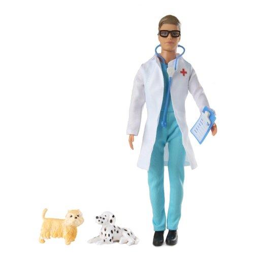 цена на Кукла Defa Lucy Ветеринар с 2 собачками 29 см 83374