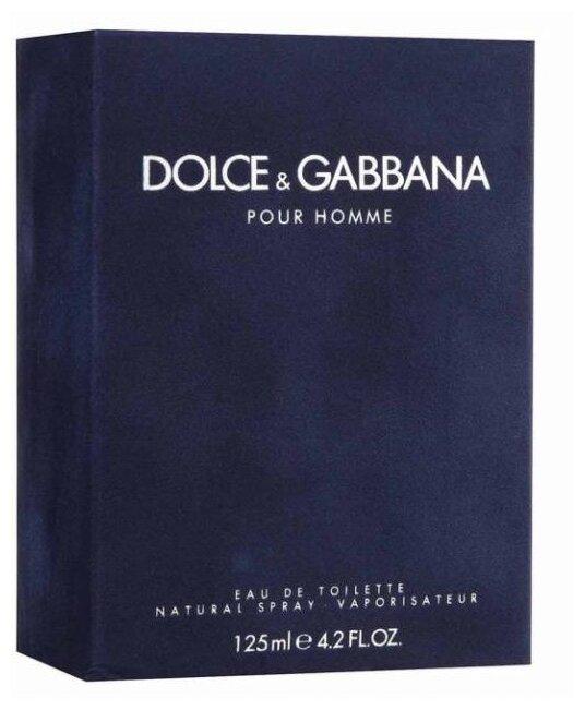 Туалетная вода DOLCE & GABBANA Dolce&Gabbana pour Homme