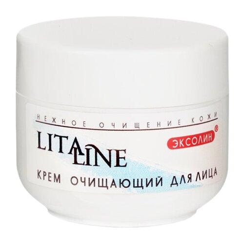 Litaline Крем очищающий для всех типов кожи (гоммаж-скатка), 75 млОчищение и снятие макияжа<br>