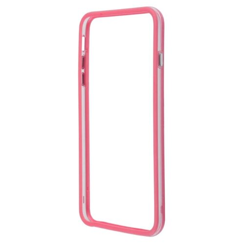 цена на Чехол Liberty Project Bumpers для Apple iPhone 6 Plus/iPhone 6s Plus розовый/прозрачный