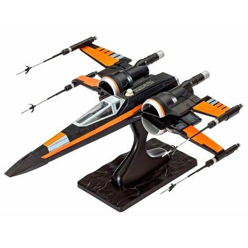 Фото - Сборная модель Revell Звездный истребитель X-wing По Дамерона (06692) 1:50 сборная модель revell porsche 356 cabriolet 07043 1 16