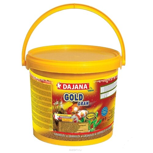 Сухой корм Dajana Pet Gold Gran для рыб 5000 мл 2200 г