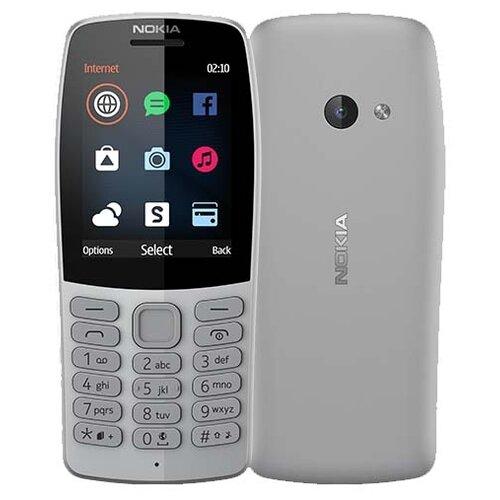 Телефон Nokia 210 серый