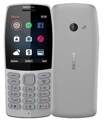 Купить Телефон Nokia 210 серый (16OTRD01A03) по низкой цене с доставкой из Яндекс.Маркета (бывший Беру)