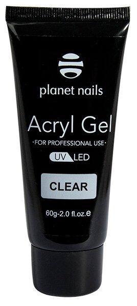 Акригель planet nails Acryl Gel, 60 г