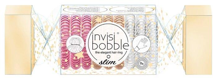 Резинка Invisibobble SLIM Trio Cracker 9 шт.