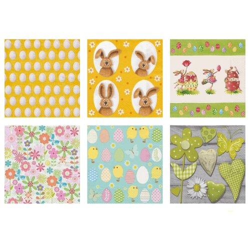 Набор салфеток для декупажа Love2Art Пасха 2 1216-02 набор для декорирования яиц светлая пасха 1918759