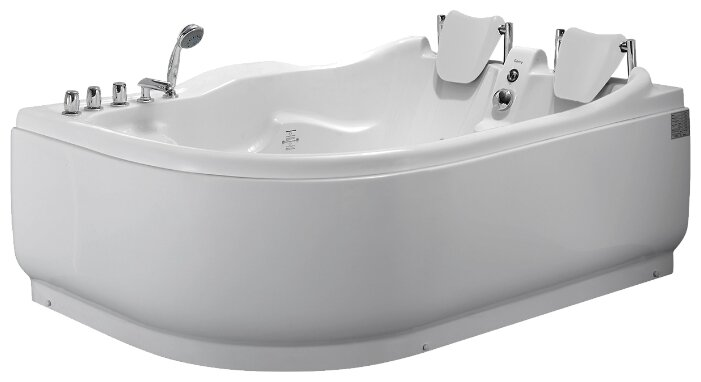 Ванна Gemy G9083 B акрил угловая