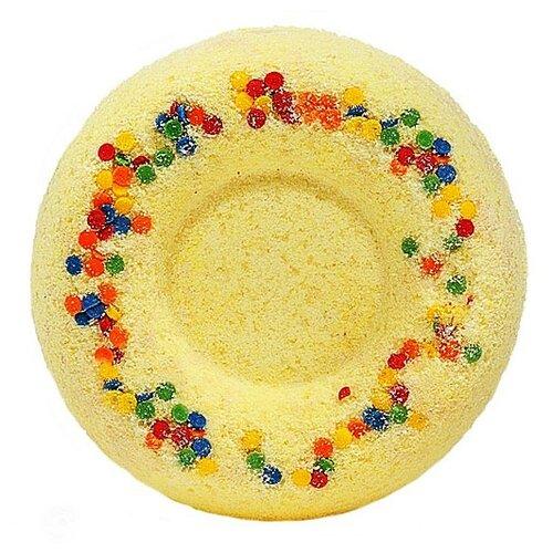 Лаборатория Катрин Бурлящий шар для ванн Медовый пончик, 60 г фото