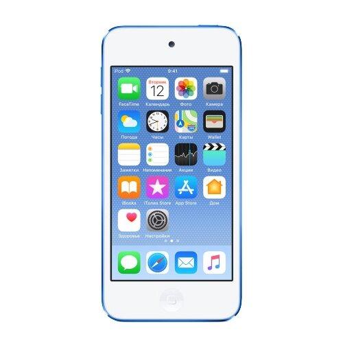 Плеер Apple iPod touch 6 128Gb голубой