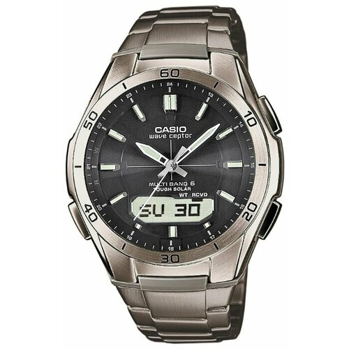 Наручные часы CASIO WVA-M640TD-1A наручные часы casio radio controlled wva 109he 1b
