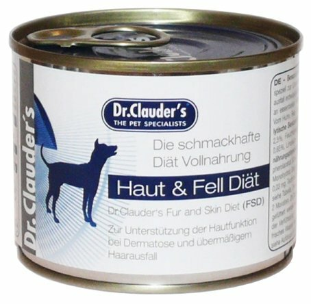 Корм для собак Dr. Clauder's Fur and Skin Diet консервы для собак при заболеваниях кожи и шерсти (0.2 кг) 1 шт.
