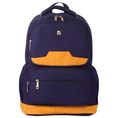 Купить BRAUBERG рюкзак Бронкс (226349), синий, Рюкзаки, ранцы