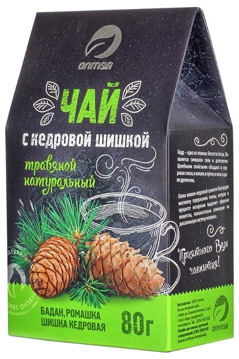 Купить Чайный напиток травяной Алтэя с кедровой шишкой, 80 г по низкой цене с доставкой из Яндекс.Маркета (бывший Беру)