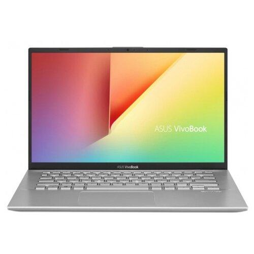 Купить Ноутбук ASUS VivoBook 14 X412FA-EB695T (Intel Core i3 8145U 2100MHz/14 /1920x1080/8GB/256GB SSD/DVD нет/Intel UHD Graphics 620/Wi-Fi/Bluetooth/Windows 10 Home) 90NB0L91-M10860 серебристый